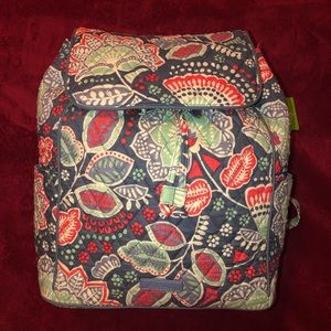 NWT Vera Bradley Drawstring Backpack